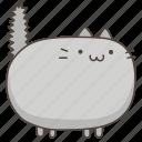 cat, cute, doodle, kitten, scary