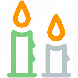 candle, christmas, winter icon icon