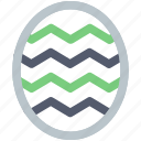 celebration day, christianity, easter, egg, holiday, line, spring icon icon