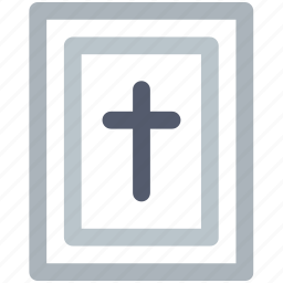 bible, celebration day, christianity, easter, holiday, line, spring icon icon