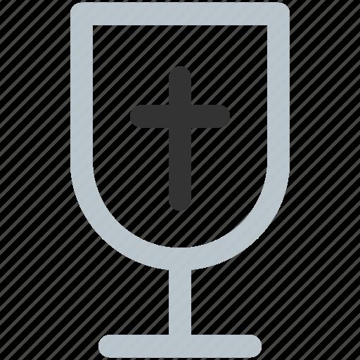 christian drink, drink, glass, vine, wine icon icon