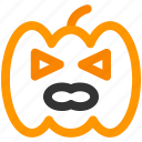 halloween, happy, pumpkin icon icon