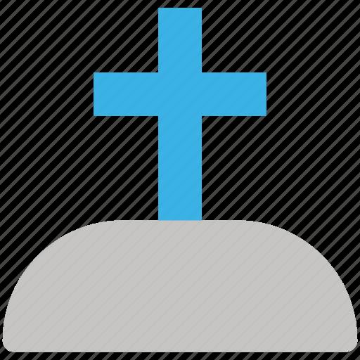 coffin, graveyard, rip, tombstone icon icon