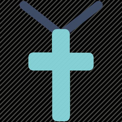 christian cross, cross, crucify icon icon