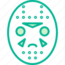 mask, jason, voorhees, halloween icon