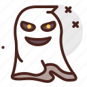 ghost, angry, halloween, laugh, emoji