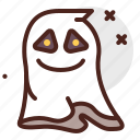 ghost, happy, halloween, emoji