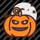 angry, pumpkin, halloween, laugh, emoji