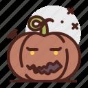 mouth, pumpkin, halloween, emoji