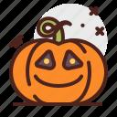 smile, pumpkin, halloween, emoji