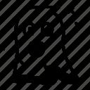 ghost, emoji, shocked, halloween icon