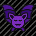 halloween, scary, animal, terror, bat