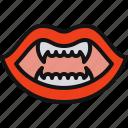 costume, vampire, party, fangs, halloween