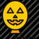 ornament, party, halloween, pumpkin, balloon