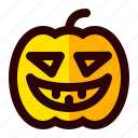 celebration, halloween, holiday, pumpkin, scary, sign icon