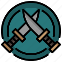 blood, cutlery, cutting, halloween, killer, knife, murder icon