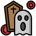 fear, ghost, nightmare, paranormal, scary, spooky, terror icon