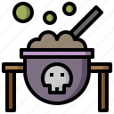 bubbles, celebration, scare, sorcery, spooky, witches icon