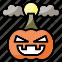 fear, halloween, horror, pumpkin, scary icon