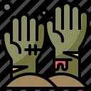 avatar, halloween, horror, zombie icon