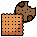 baker, bakery, biscuit, cookie, dessert, food, restaurant icon