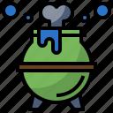 cauldron, cook, food, halloween, pot icon