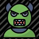 avatar, devil, fear, halloween, horror, scary, spooky icon
