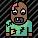 avatar, halloween, horror, scary, spooky, terror, zombie icon