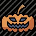 fear, halloween, horror, pumpkin, scary, spooky, terror