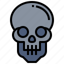 fear, halloween, horror, scary, skull, spooky, terror icon