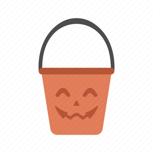 candy bucket, costume, halloween, spooky, trick or treat icon
