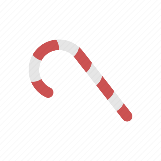 candy cane, decoration, dessert, food, sweet icon