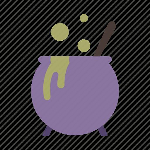 cauldron, halloween, pot, potion, witchcraft icon
