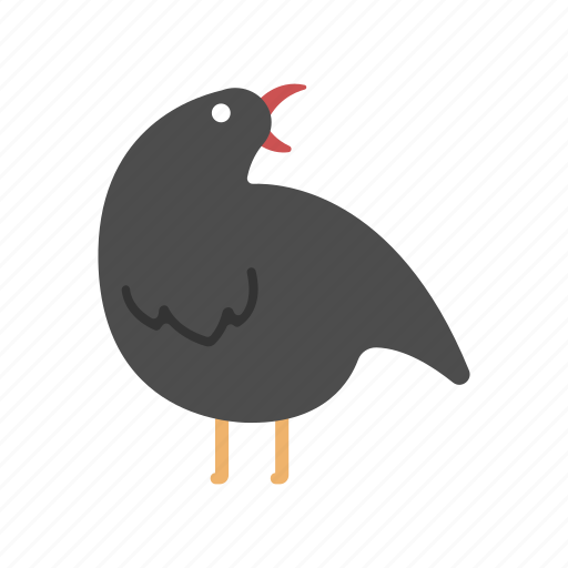 bad signs, crow, halloween, raven, spooky icon
