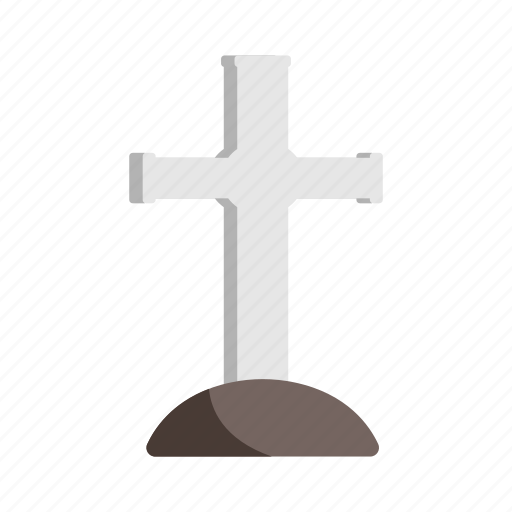 cross, death, funeral, grave, tomb icon