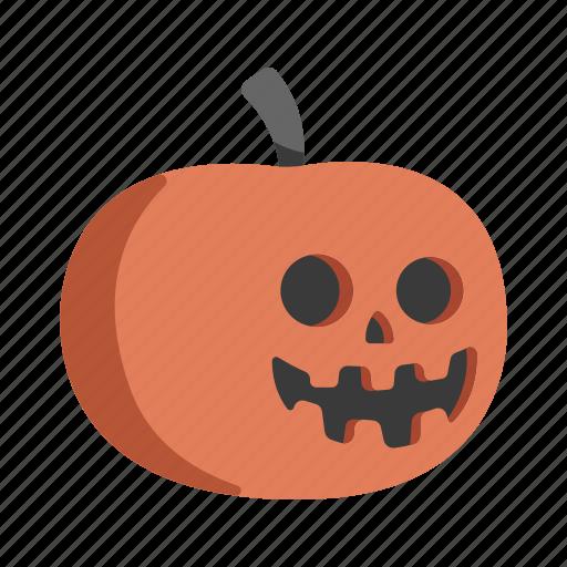fear, halloween pumpkin, scary, spooky, terror icon