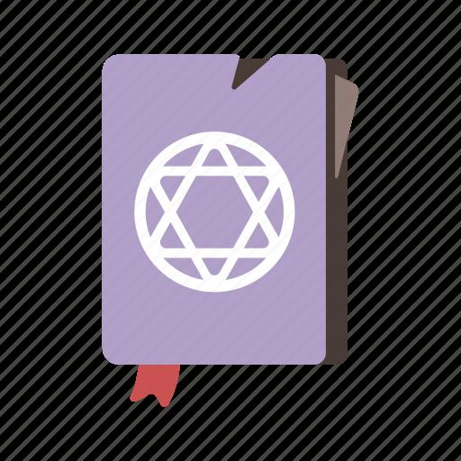 curse, magic, necronomicon, spellbook, witchcraft icon
