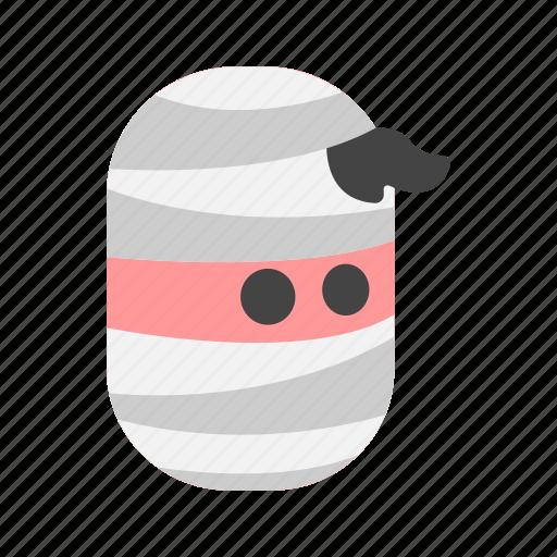 bandage, monster, mummy, scary, terror icon