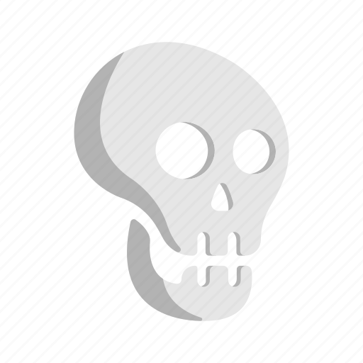 body part, dead, head, necromancy, skull icon
