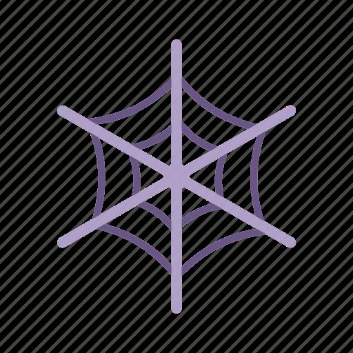 cobweb, dusty, halloween, old, spider web icon