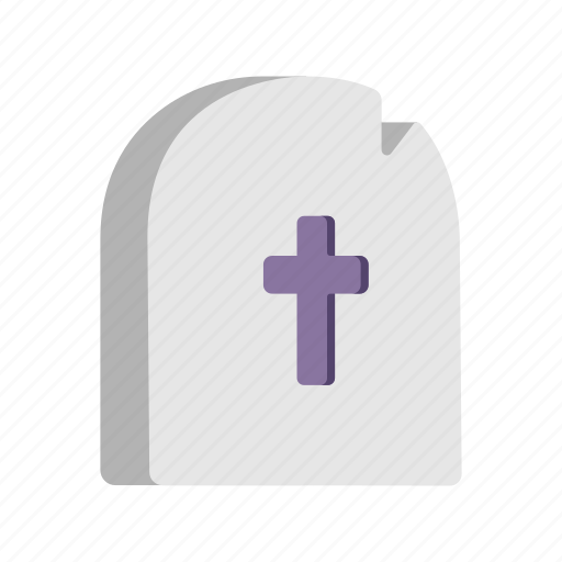 cemetery, death, grave, rip, tombstone icon