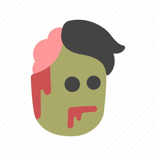 ghoul, halloween, monster, undead, zombie icon