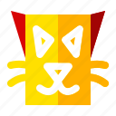 cat, celebration, halloween, holiday, scary, sign icon