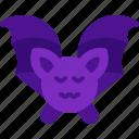 terror, scary, bat, halloween, animal