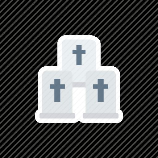 casket, cemetry, coffin, graveyard icon
