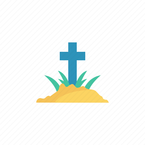 Cemetery, coffin, grave, rip icon - Download on Iconfinder