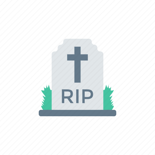 cemetery, coffin, grave, tombstone icon
