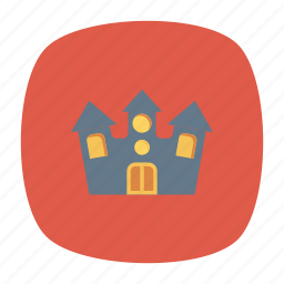 building, estate, home, house icon