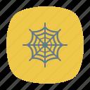 cobweb, net, spider, tarantula icon