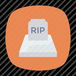 coffin, dead, grave, rip icon